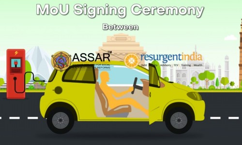 E-Mobility Ease of Doing Business MOU for #NHEV between Resurgent India & ASSAR